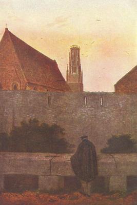 Каспар Давид Фридрих. У городской стены