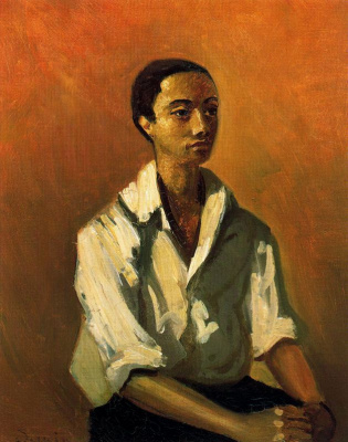 Andre Derain. Metis in a white shirt