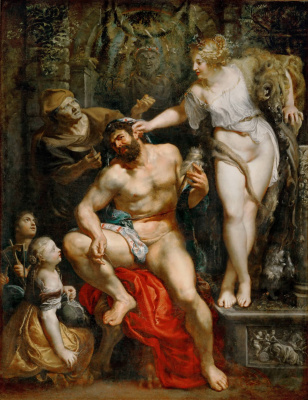 Peter Paul Rubens. Hercules at the Omphalos