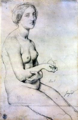 Jean Auguste Dominique Ingres. Venus