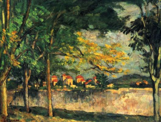 Paul Cezanne. Street