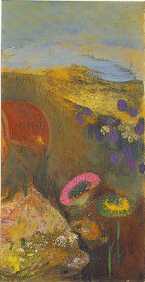 Odilon Redon. Strange flowers