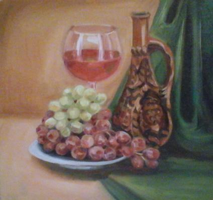 Stetskaya Alexandrovna Elena. Grape juice
