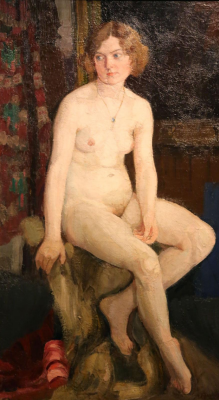 Alexander Mikhailovich Gerasimov. Nude Private collection