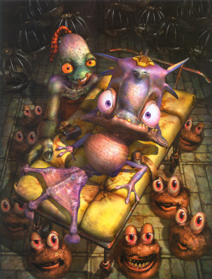 Raymond Swanland. Monster