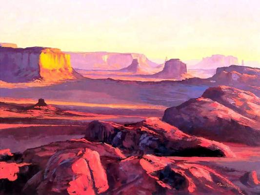 Дэвид Джонс. Восход солнца