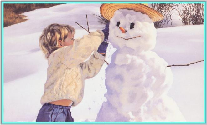 Бейнтон Маурад. Снеговик