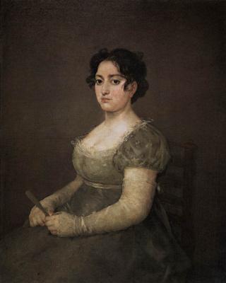 Франсиско Гойя. Портрет дамы