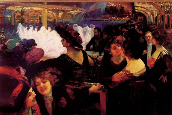 Ричард Мишель Путз. Полночь на балу в Париже
