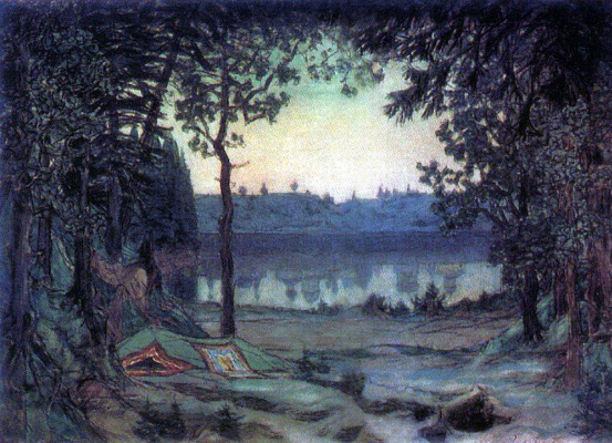 Apollinarius Mikhailovich Vasnetsov. The Lake Svetloyar
