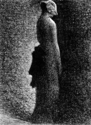 Georges Seurat. Black bow