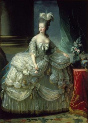 Elizabeth Vigee Le Brun. Marie-Antoinette