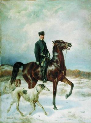 Nikolay Egorovich Sverchkov. Hunter.