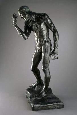Auguste Rodin. Pierre de Wissant. Monumental Nude