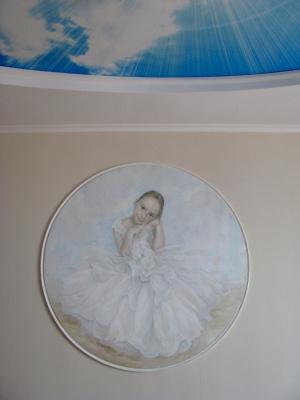 Svetlana Anatolyevna Dodu. Portrait of Sabina Ilyinichna Kazakova