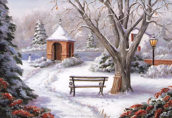 Барбара Фелиски. Зимний сад