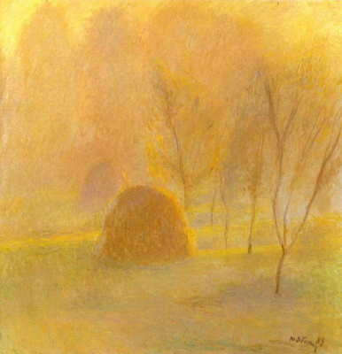 Tetyana Yablonska. In autumn haze