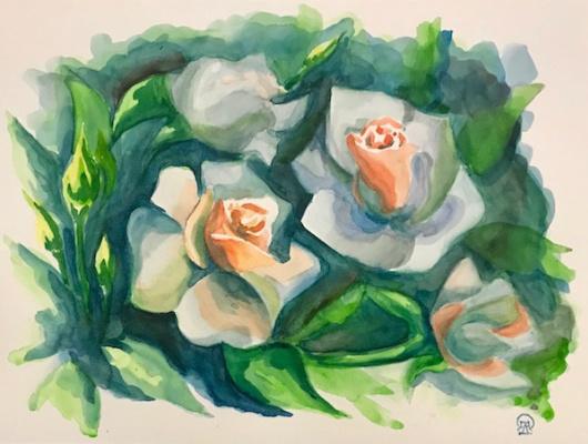 Лариса Луканева. Белые розы