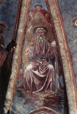 Андреа дель Кастаньо. Бог Отец