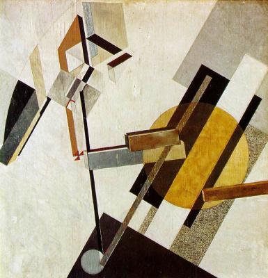 El Lissitzky. Proun 19D