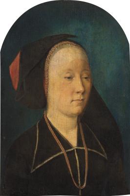 Михель Зиттов. Женский портрет