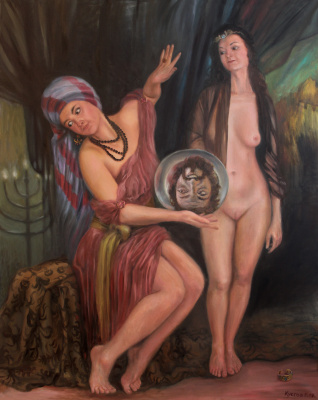 Eugene Kustov. Salome gives her mother what she wanted.