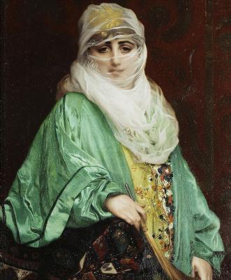 Жан-Леон Жером. Женщина из Константинополя