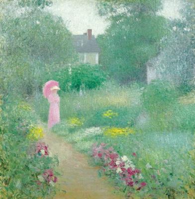 Эдмунд Уильям Грисен. В саду мисс Флоренс
