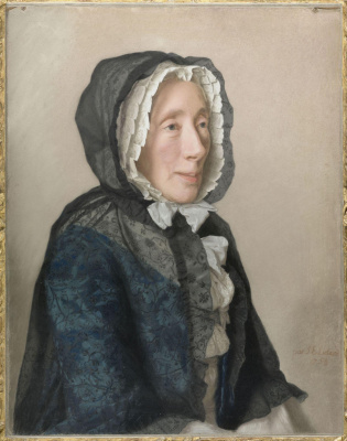 Jean-Etienne Lyotard. Madame Jean Tronchin née Anne Molènes