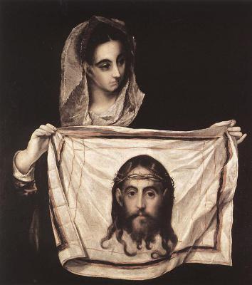Domenico Theotokopoulos (El Greco). Holy Veronica