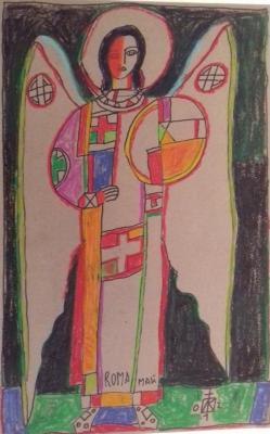 Igor Vasilyevich Kislitsyn. Angel of rome 3