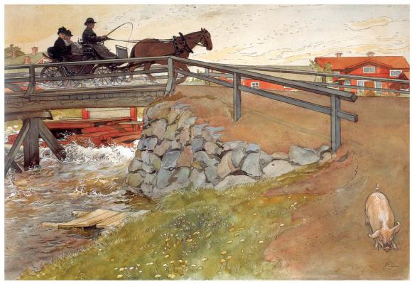 Карл Ларссон. Мост