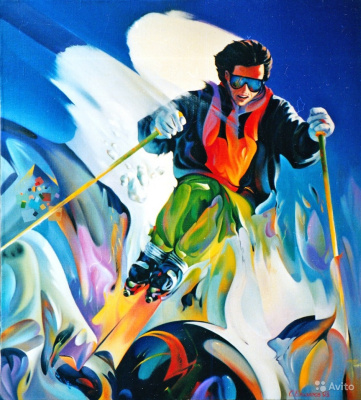 Sergey Ivanovich Elizarov. Skiing. Mogul