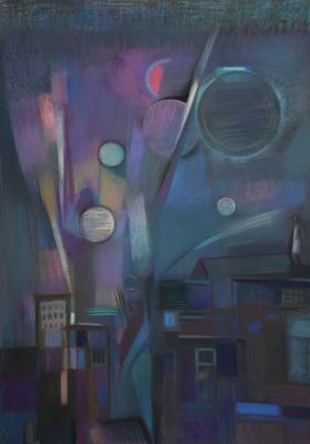 "Rumyana Vnukova. Series ""Cosmos"". Parade of planets"