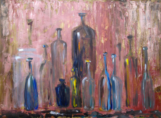 Pavel Kamyshnikau. Bottled Dreams