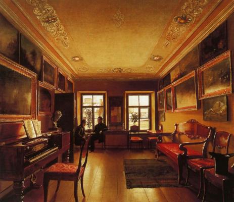 Alexey Vasilyevich Tyranov. The interior of noble house