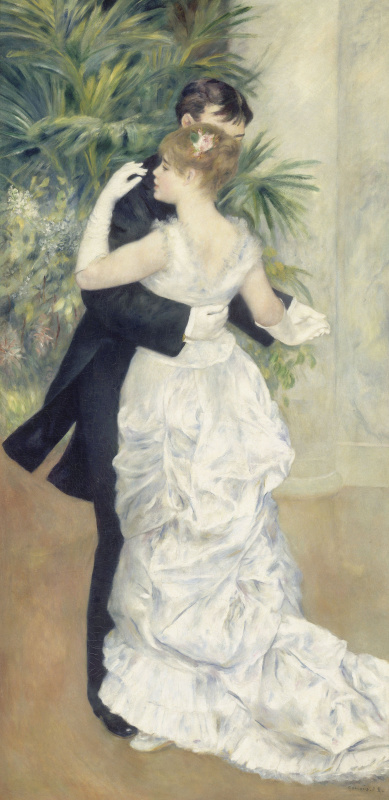 Pierre-Auguste Renoir. Dance in the city