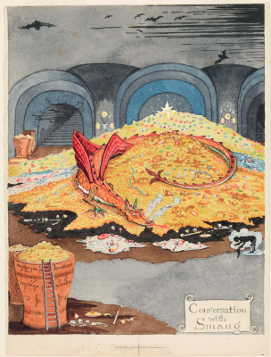 John Ronald Reuel Tolkien. The conversation with Smaug