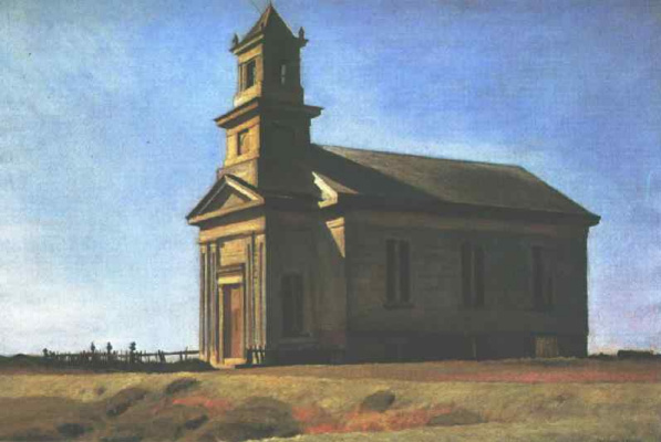 Edward Hopper. The Church at South Truro