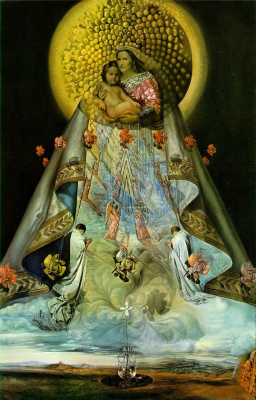 Salvador Dali. The Virgin Mary Of Guadalupe