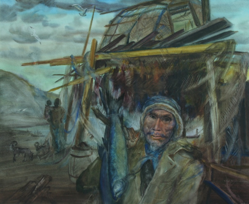 Victor Ivanovich Suzdaltsev. Old Karjak