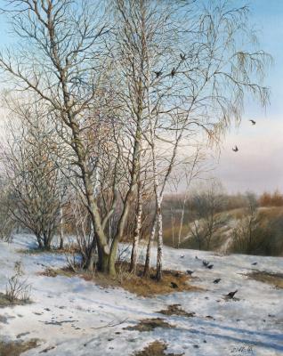 Сергей Владимирович Дорофеев. Early spring in Kolomna