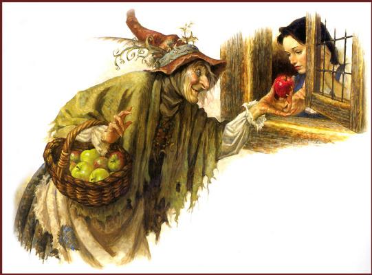 Скотт Густафсон. Белоснежка и яблоко