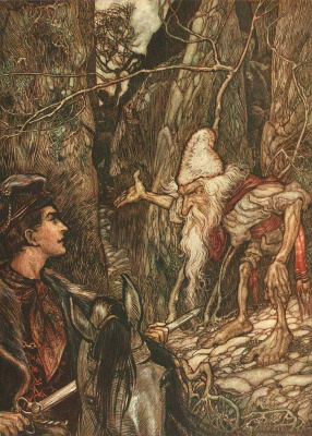 Arthur Rackham. Tales of the brothers Grimm