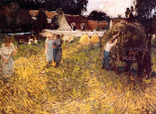 Пьер Монтезин. Урожай
