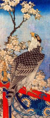 Katsushika Hokusai. Eagle