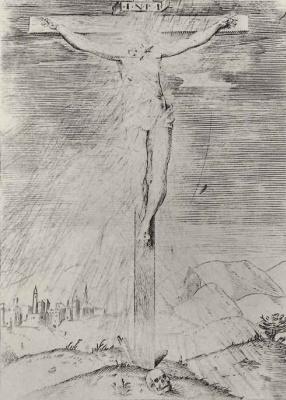 Annibale Carracci. The crucifixion