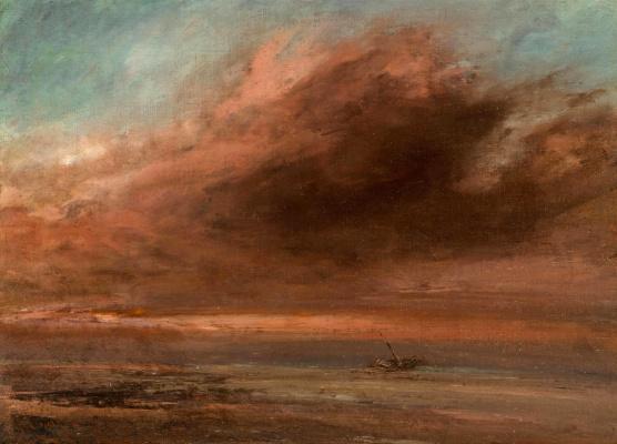 Gustave Courbet. Sea shore
