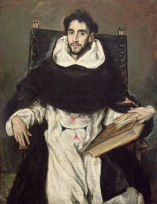Domenico Theotokopoulos (El Greco). Fray Hortensio Félix Paravicino