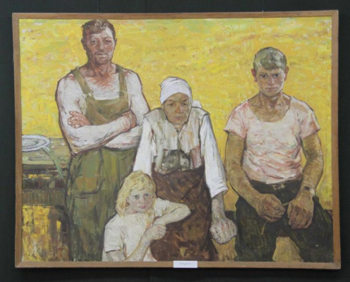 Виктор Петрович Овчаров. Bread growers